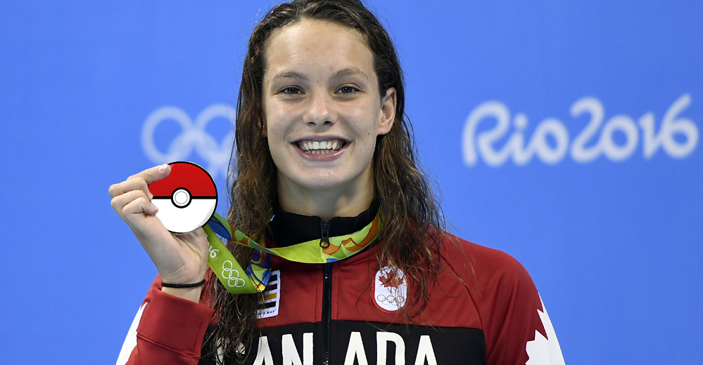 Penny Oleksiak Really Wants To Get Home And Catch Pokmon