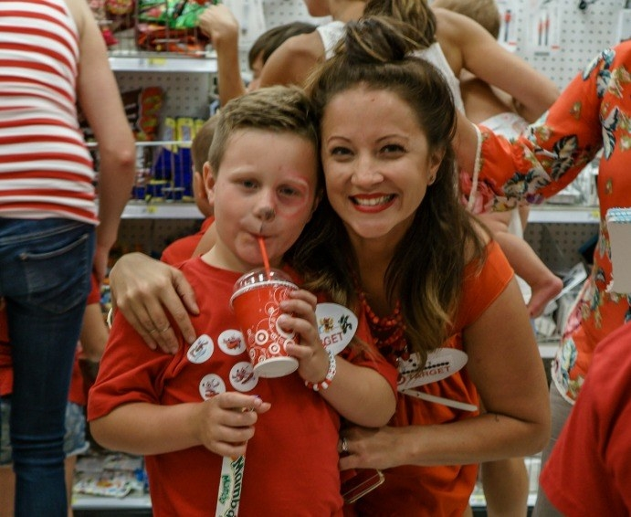 ... Her Target-Obsessed Son A Birthday Party At Target  Unhinged Group