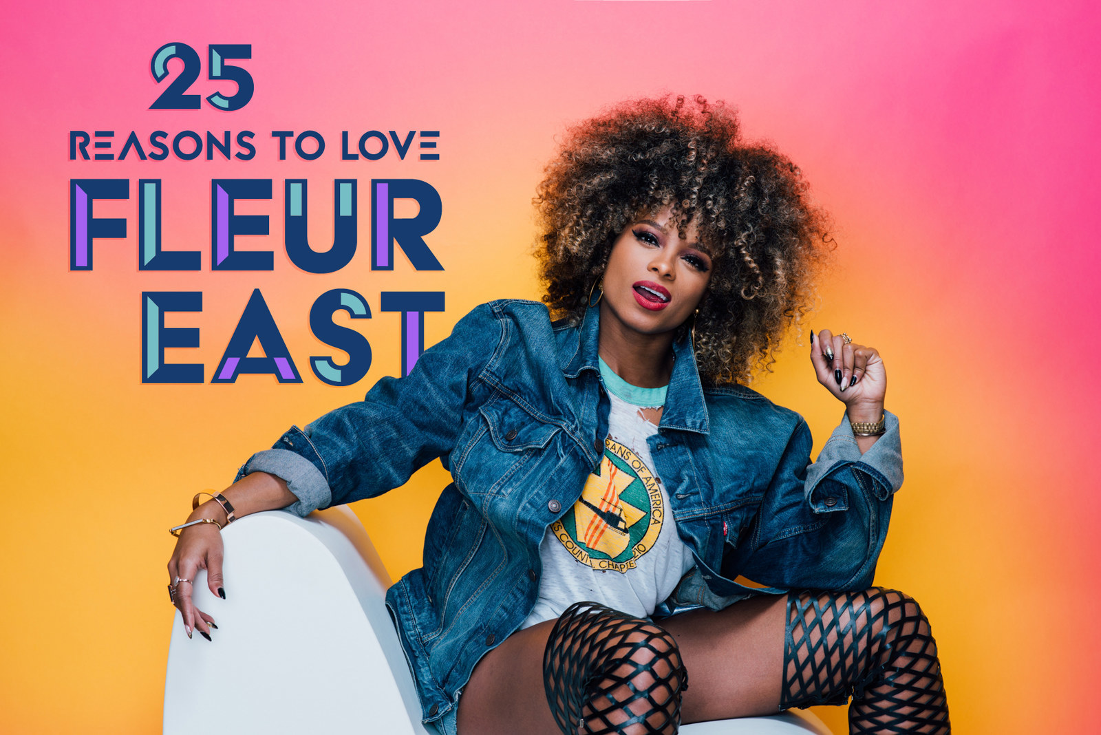 25 Reasons To Love Fleur East