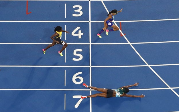 The dive was passed by officials and Miller placed first in the 400m final.
