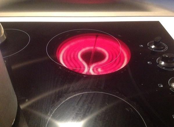 ¡Genial! Nunca más podré usar este fogón.