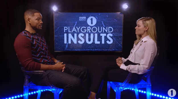 "The two actors participated in a game called ""Playground Insults,"" where they were asked to essentially say really rude things about each other."