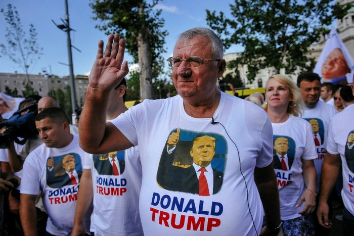 """Trump is the alternative to globalization. He will destroy old centers of power in the United States and he is a supporter of Russia,"" Seselj said. ""Because he wants an agreement with Russia and he is a friend of the Serbian nation. These are the reasons why the Serbian Radicals are supporting Trump."""