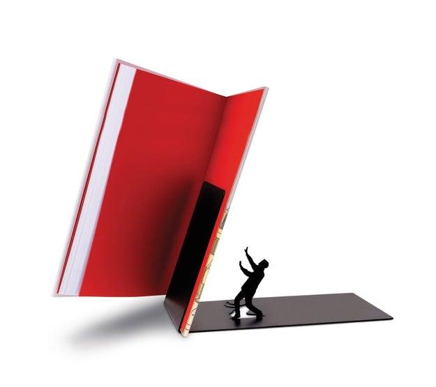 Detén tus libros de una manera súper creativa ($249).
