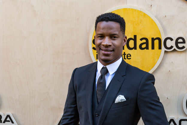 Nate Parker arrives at a Sundance benefit event in Los Angeles on Aug. 11.