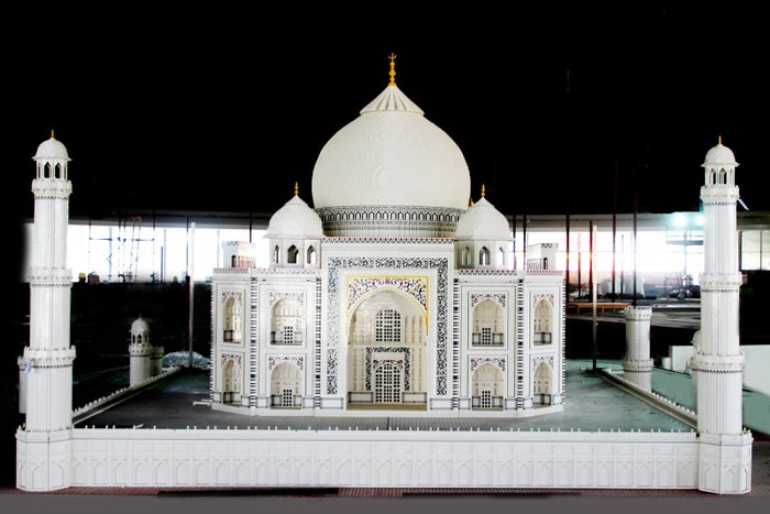 """The Lego Taj Mahal will be part of the """"Miniland"""" attraction in the park."""