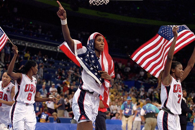 U.S. Women's Basketball has won five gold medals in a row.