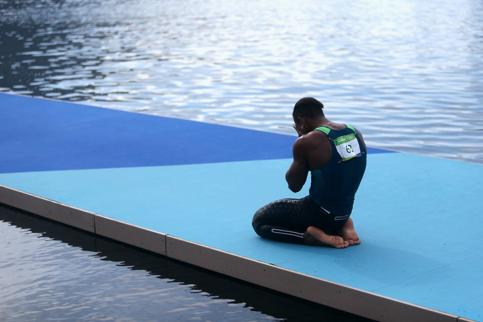 Em sua primeira olimpíada, ele ganhava a prata na canoagem.