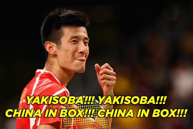 Quando a torcida brasileira apoiou os atletas da China gritando