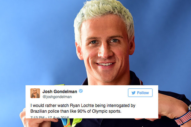 People are losing their shit because ryan lochte gtfo of brazil voltagebd Choice Image