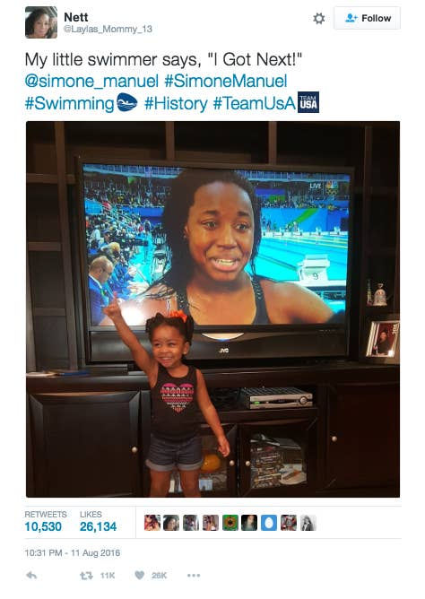 """Author: Taryn FinleyOutlet: Huffington Post Black VoicesHuffington Post Black Voices published this incredibly adorable roundup of black kids inspired by the 2016 Olympics. """"These images ― in addition to being adorable ― are powerful testaments to how representation influences children. The images kids see of people who look like them on TV can decrease their self-esteem, unless they are white males, a 2012 study found,"""" the author, Taryn Finley, writes. """"Because of athletes like Manuel and Homer, these kids and millions more are able to assert that they, too, can take home the gold one day and pave the way for others."""" Get a load of all the cuteness here on Huff Po Black Voices, and be prepared to say """"awwwe!"""" over and over."""