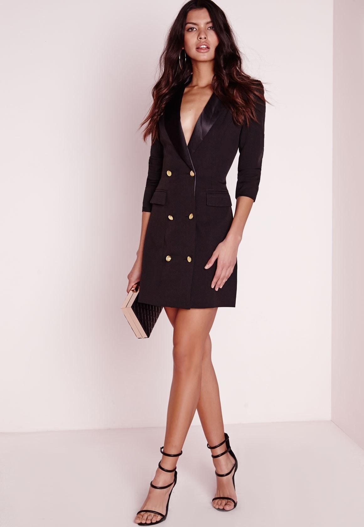 Платье пиджак balmain