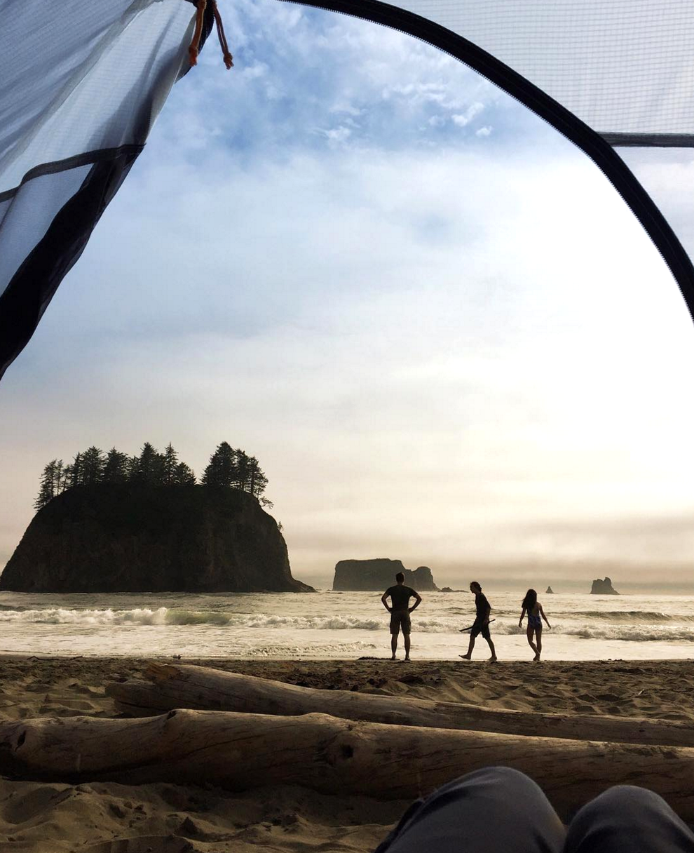 This dreamlike vision on the beaches of La Push in Washington.