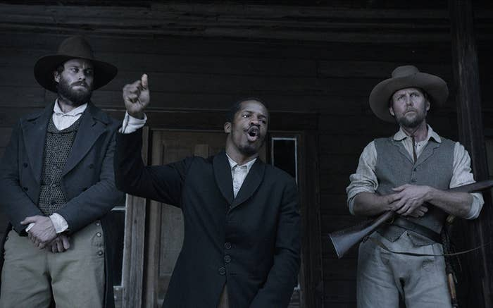 Parker as Nat Turner in The Birth of a Nation