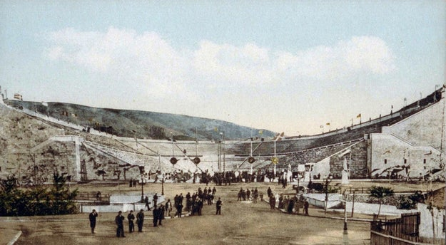 Olympic stadiums in the past.