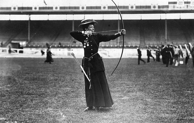 Archery in the past.