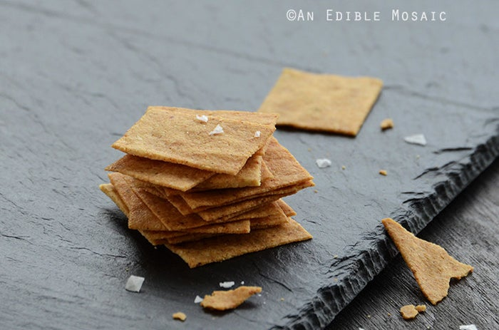 Cheesy and crispy. 'Nuff said. Get the recipe here.