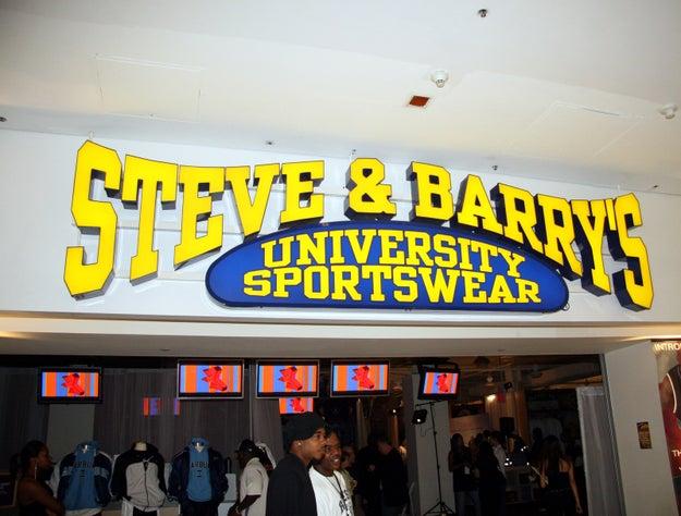 Steve & Barry's: 1985–2009
