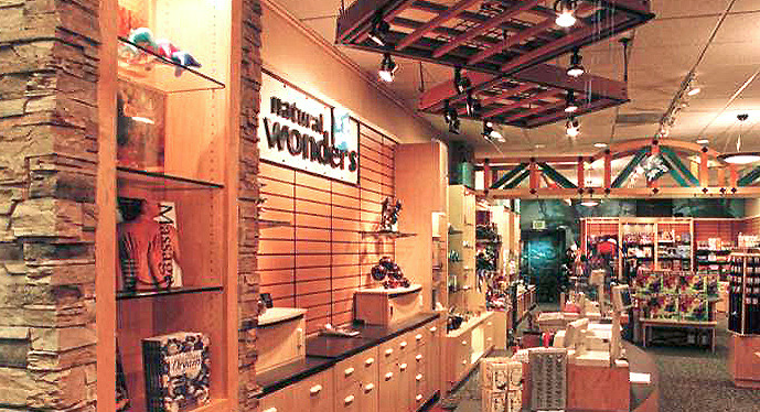 What you bought there: Pure Moods CDs, rain sticks, those eagles that balance on your finger, geodes, and other random rocks. Who shopped there: Primarily 13-year-olds and women in their fifties. Random fact: You can, thankfully, still buy their Natural Wonders CDs compilations on Amazon.