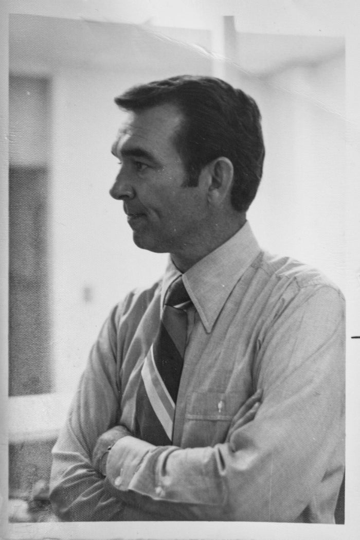 A photo of Jim Brandenburg while in office, exact date unknown.