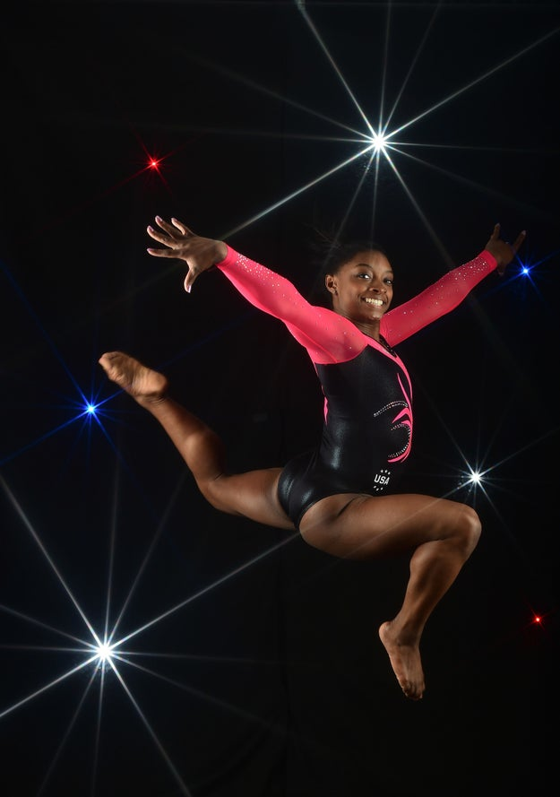"Simone Biles is 4'8"" and is about to destroy everyone in gymnastics for Team USA."