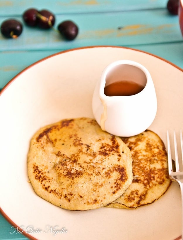 2-Ingredient Paleo Banana Pancakes