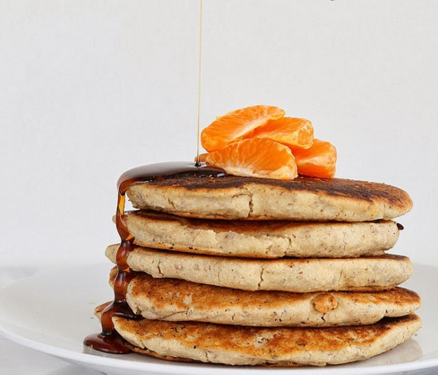 Orange Ginger Yogurt Pancakes