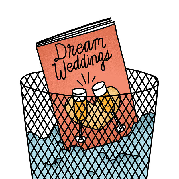 The Worst Parts Of Wedding Planning, Ranked