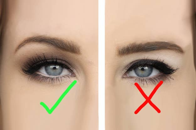 Hooded Eye Makeup Diagram.13 Makeup Tips Every Person With Hooded Eyes Needs To Know