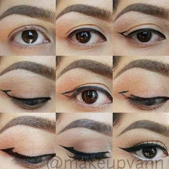 11 glam af makeup tips for people with hooded eyes makeupvann via instagram ccuart Gallery