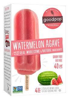 GoodPop Watermelon Agave