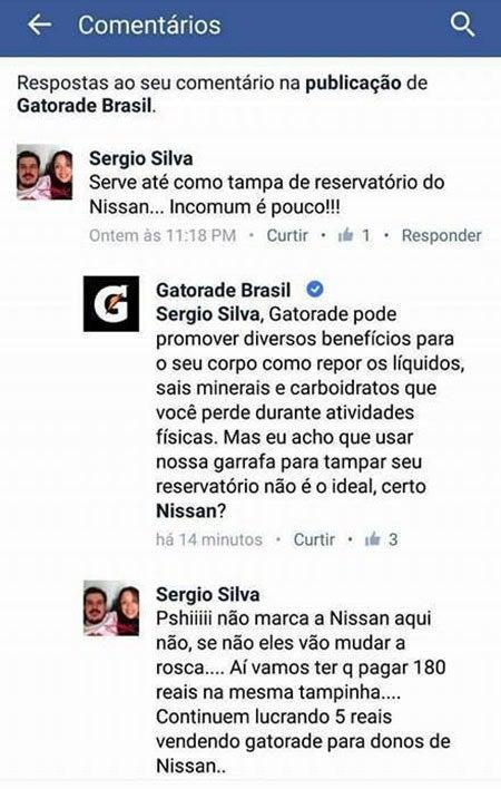 A prova concreta que o brasileiro sempre consegue dar um jeitinho para qualquer coisa.