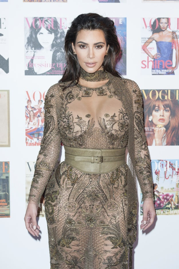 """Apparently Kim's diet """"involves cutting out all sugar and carbs but it allows meat and dairy."""""""