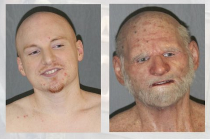 Shaun Miller, with and without disguise.