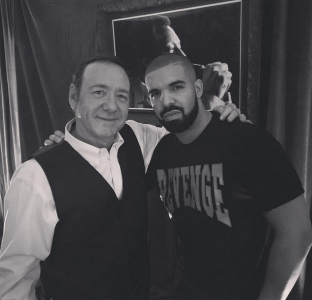 And while he was in D.C., Drizzy met with one of the most influential politicians of our time, Frank Underwood.