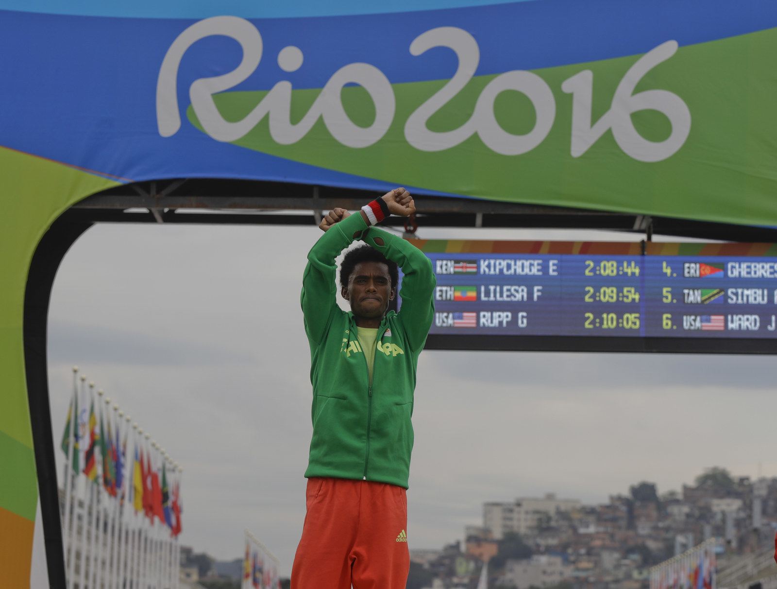 An Ethiopian Runner Protested At The Olympics In Spite Of Fears It Could Get Him Killed