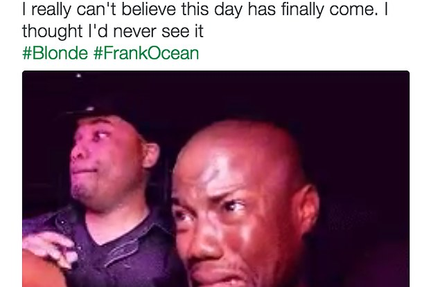 Everyone Lost Their Goddamn Minds After Frank Ocean Dropped His New Album