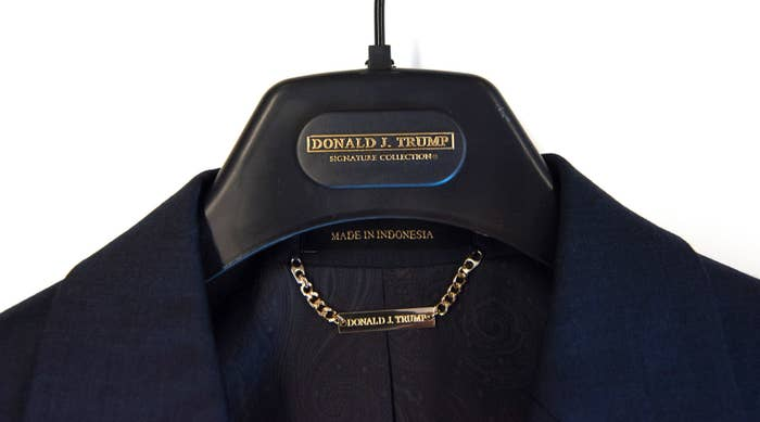Trump Suits Say Made In The Usa And Imported Which Is It