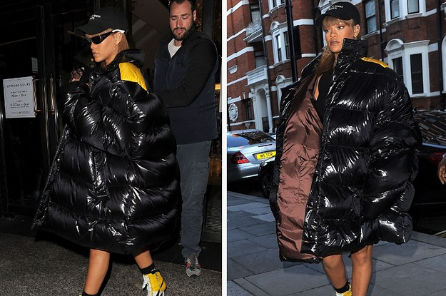 Rihanna Wore A Plastic Bag Looking Outfit And Remained Glamorous As Fuck