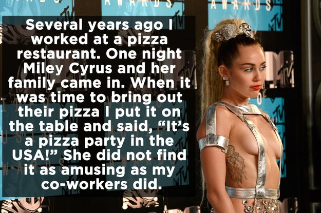27 Normal People Who Ran Into Celebrities At Work