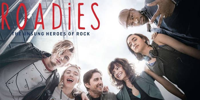 I picked up this show last week and watched all 8 episodes in a couple of days. Created by Cameron Crowe and starring Luke Wilson and Imogen Poots, it's a light and lovely hour-long dramedy with just enough to keep you going but never enough to stress you out, which I really appreciate between intense episodes of Mr Robot, for instance. But what's REALLY great about Roadies is the soundtrack and musical guests – you'll have to suspend your disbelief that the fictional Staten-House Band somehow always has a new, well-known opening act for every show on their tour, but it's worth it for acoustic Halsey sets and killer performances from John Mellencamp, Reignwolf, The Head and the Heart, Lucius, and more. (Also Rafe Spall's equally pitiful yet annoying AF puppy dog eyes have quickly cemented themselves as a national treasure).Watch it on Amazon Prime.Alternatively and also, The Great British Bake Off kicked off on Thursday, so WATCH. THIS. SPACE.
