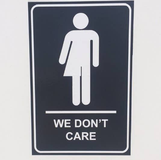 The Canadian National Exhibition  aka  The Ex   has just kicked off in  Toronto  Canada s largest annual fair has brought back its usual  attractions and. People Are Loving These  We Don t Care  Bathroom Signs Posted