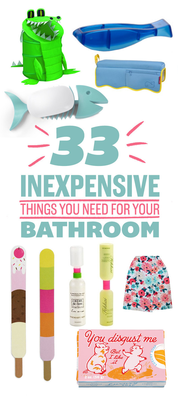 33 Awesome And Inexpensive Things You Need For Your Bathroom The Most Viral