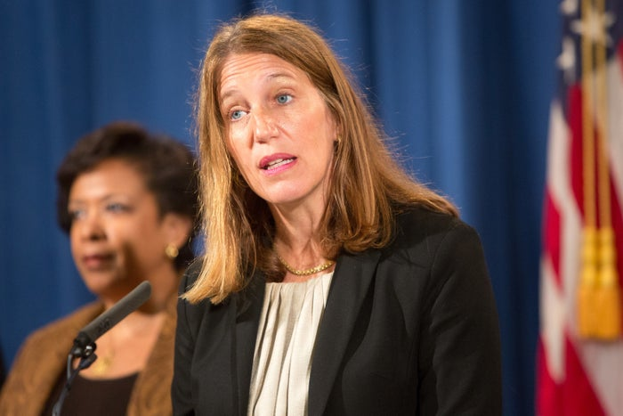 Health and Human Services Department Secretary Sylvia Mathews Burwell speaks at a news conference on June 22, 2016 in Washington, DC.