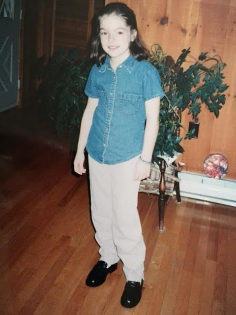 """""""Probably not apparent from this photo but my sister used to work at the Gap!"""""""