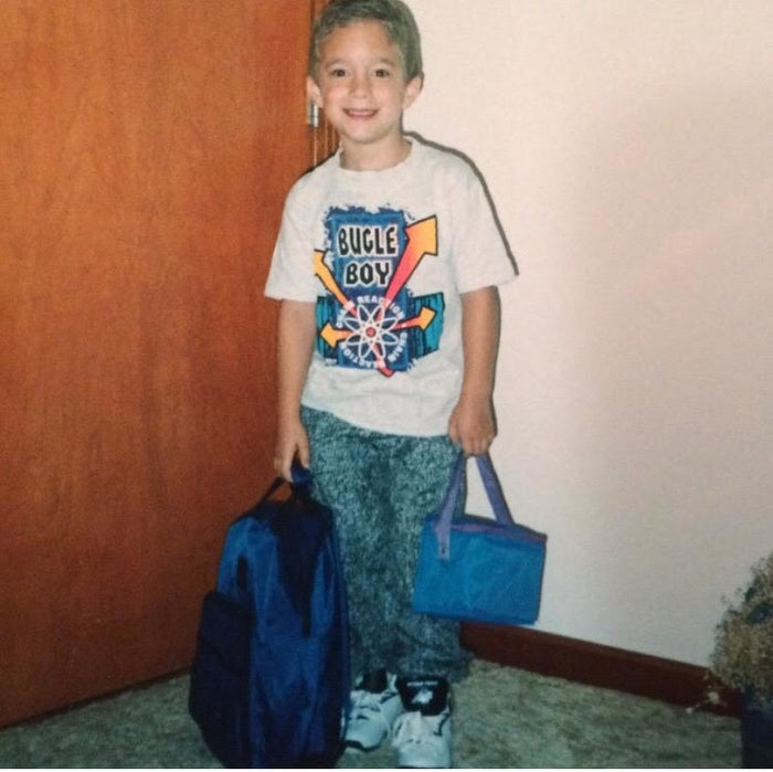 """""""Reppin' the hottest brands of the early 90s!"""""""