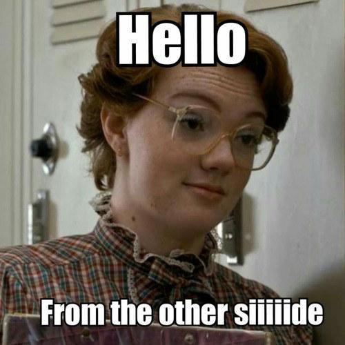 O en voz de Adele...
