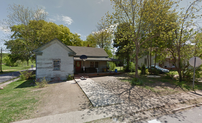 The home where the baby was allegedly murdered.