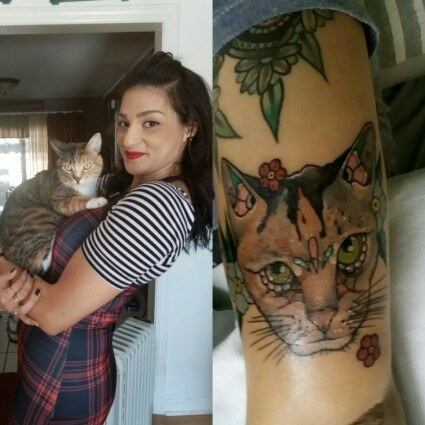 23 Beautiful Pet Tattoos That Show They're Your Friend For Life