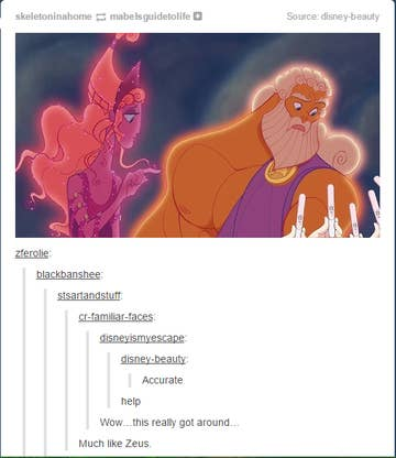17 Times Tumblr Couldn't Believe What A Huge Fuckboy Zeus Was